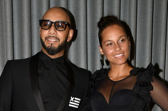 NEW YORK, NY - APRIL 03:  Musicians Swizz Beatz and Alicia Keys attend the Brooklyn Artists Ball 2017 at Brooklyn Museum on April 3, 2017 in New York City.  (Photo by Theo Wargo/Getty Images)