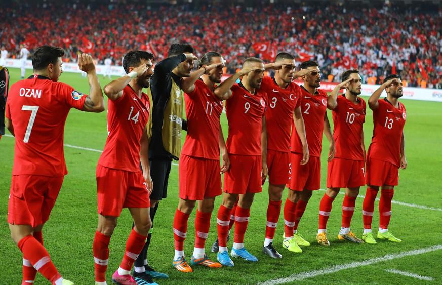 Türkische Nationalmannschaft provoziert mit Jubel – Uefa ermittelt