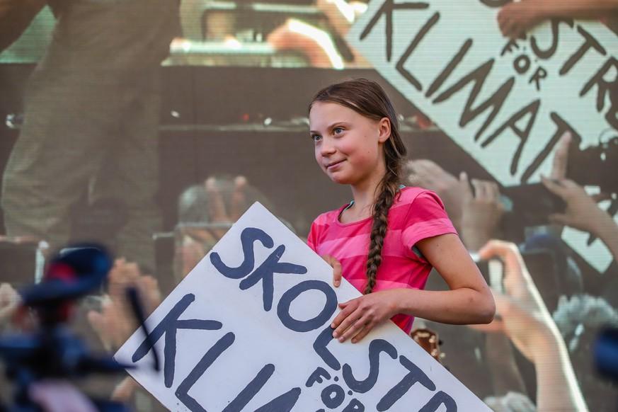 """Greta Thunberg mit Kampfansage vor Zehntausenden in New York: """"Wir sind nicht aufzuhalten"""""""