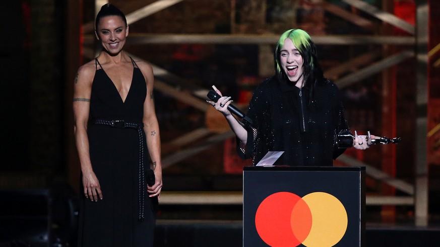Billie Eilish, Stormzy und Lewis Capaldi räumen bei Brit Awards ab