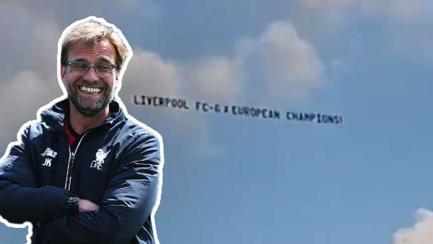 Hier trollen Liverpool-Fans Manchester United mit himmlischer Botschaft