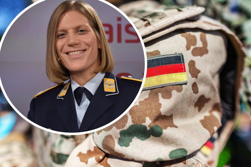 Deutschlands erste Transgender-Kommandantin spricht in der ARD über ihr Outing