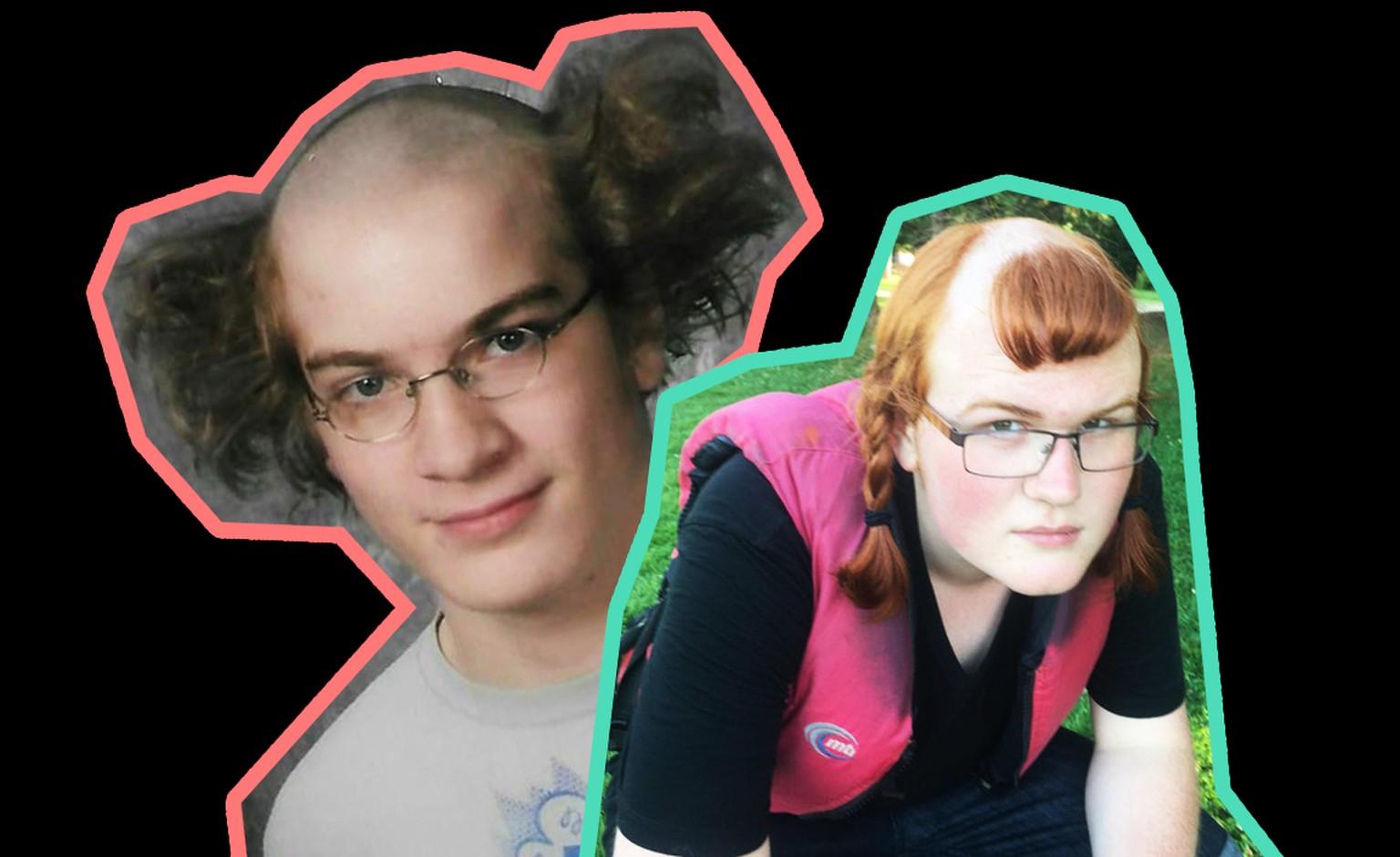Lustige Frisuren Diese 15 Leute Waren Beim Friseur Eindeutig Zu