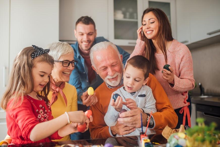 Ostern Familie Besuchen