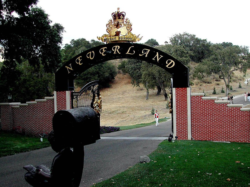 Jan. 1, 2011 - Entrance to the Neverland ranch of Michael Jackson, Neverland Valley, in which vicinity of Santa bar barons, Kaliforien, USA, 26/07 PUBLICATIONxINxGERxSUIxAUTxONLY - ZUMAg49_