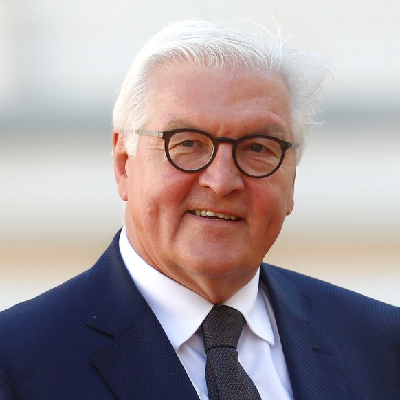 President of Germany Frank-Walter Steinmeier arrives to the Arraiolos Group meeting at Rundale Palace, Latvia, September 13, 2018. REUTERS/Ints Kalnins