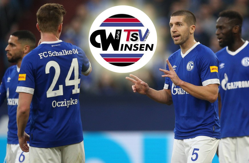 16.02.2019, Fussball, Saison 2018/2019, Bundesliga, 22. Spieltag - FC Schalke 04 - SC Freiburg Matija NASTASIC (FC Schalke 04) DFL REGULATIONS PROHIBIT ANY USE OF PHOTOGRAPHS AS IMAGE SEQUENCES AND/OR QUASI-VIDEO. Gelsenkirchen Veltins Arena NRW Deutschland *** 16 02 2019 Football Season 2018 2019 Bundesliga 22 Matchday FC Schalke 04 SC Freiburg Matija NASTASIC FC Schalke 04 DFL REGULATIONS PROHIBIT ANY USE OF PHOTOGRAPHS AS IMAGE SEQUENCES AND OR QUASI VIDEO Gelsenkirchen Veltins Arena NRW Germany