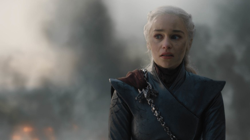 This image released by HBO shows Emilia Clarke in a scene from