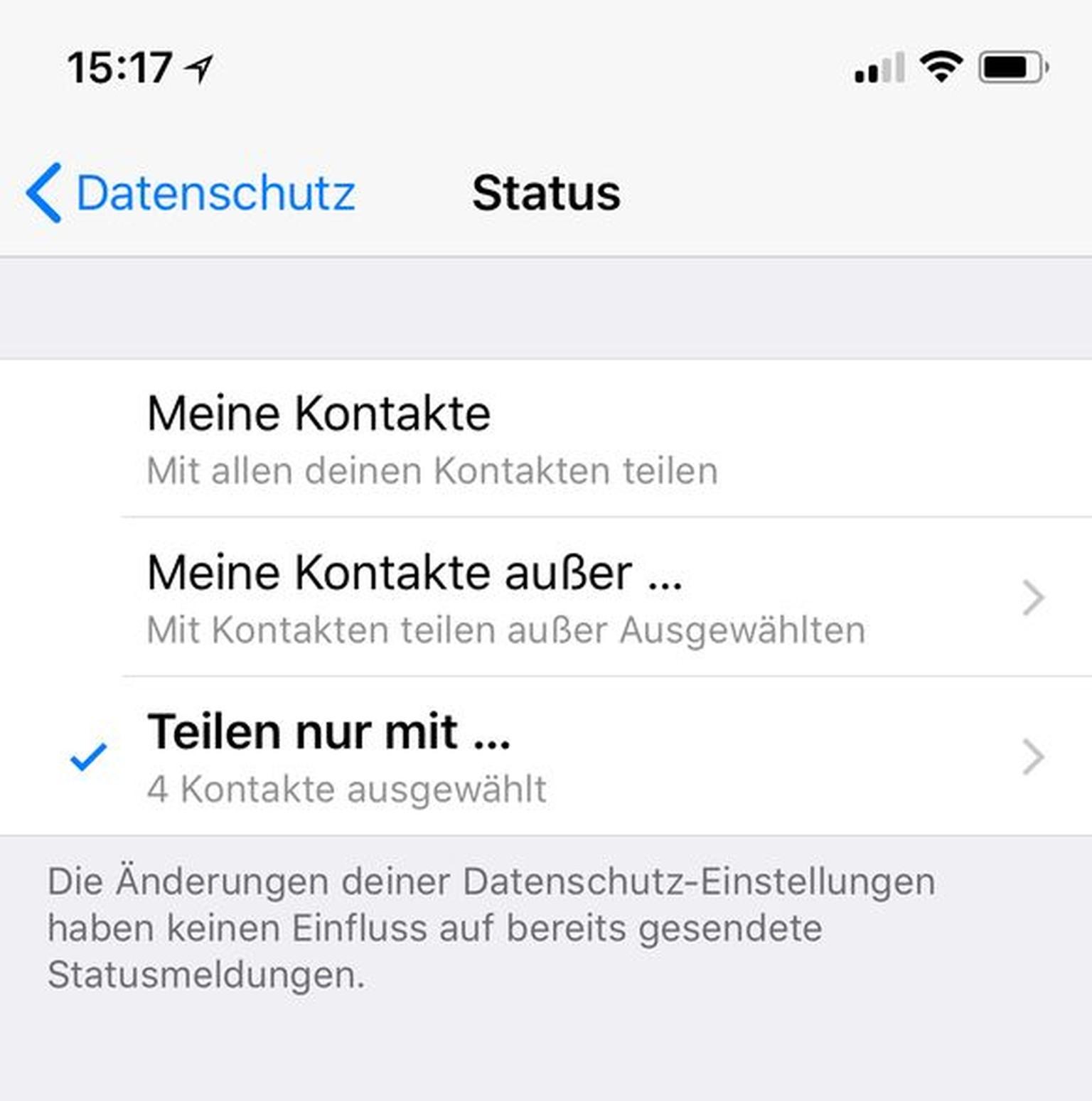 Whatsapp Sehen Wer Meinen Status Liest