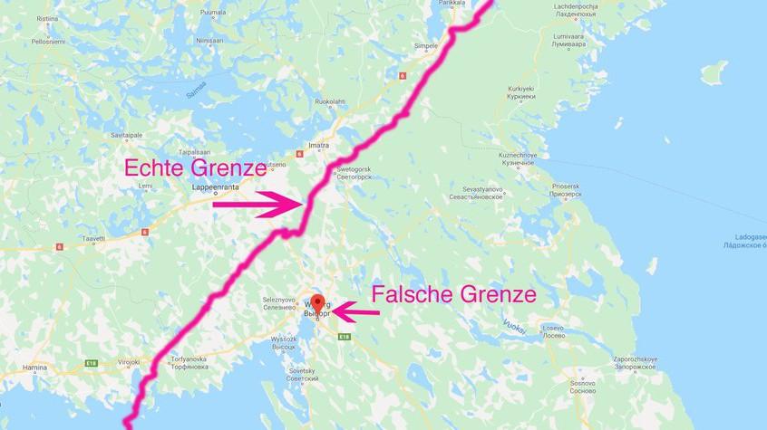 Mann baute in Russland falsche Grenze zu Finnland