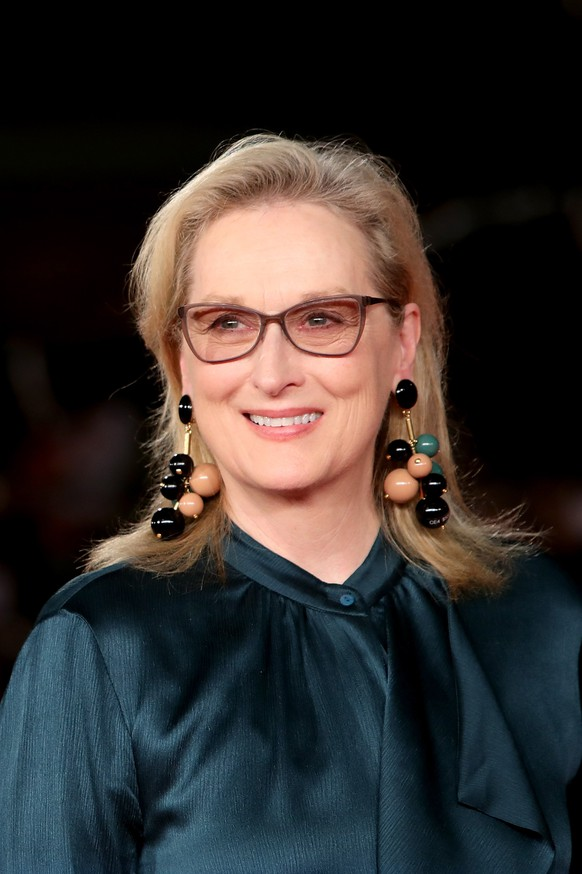 ROME, ITALY - OCTOBER 20:  Meryl Streep walks a red carpet for 'Florence Foster Jenkins' during the 11th Rome Film Festival at Auditorium Parco Della Musica on October 20, 2016 in Rome, Italy.  (Photo by Vittorio Zunino Celotto/Getty Images)