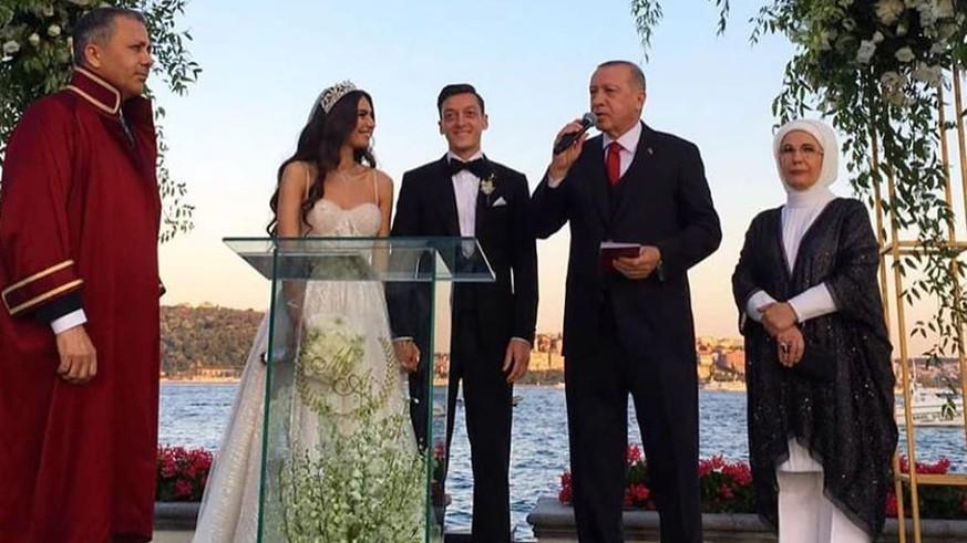 Mesut Özil Hochzeit: Neben Erdogan feierten noch diese Gäste - watson