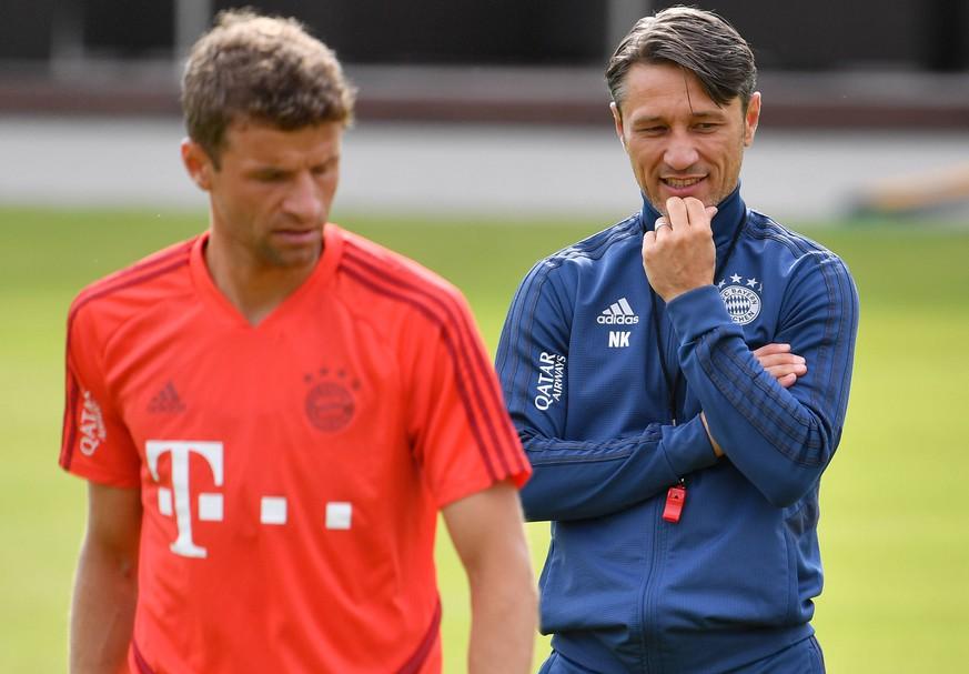 Wieso Kovac Thomas Müller links liegen lässt