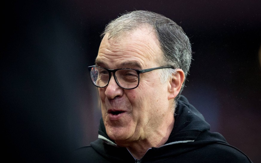 Leeds United manager Marcelo Bielsa during the Sky Bet Championship match between Aston Villa and Leeds United at Villa Park, Birmingham, England on 23 December 2018. PUBLICATIONxNOTxINxUK Copyright: xAndyxRowlandx PMI-2496-0015