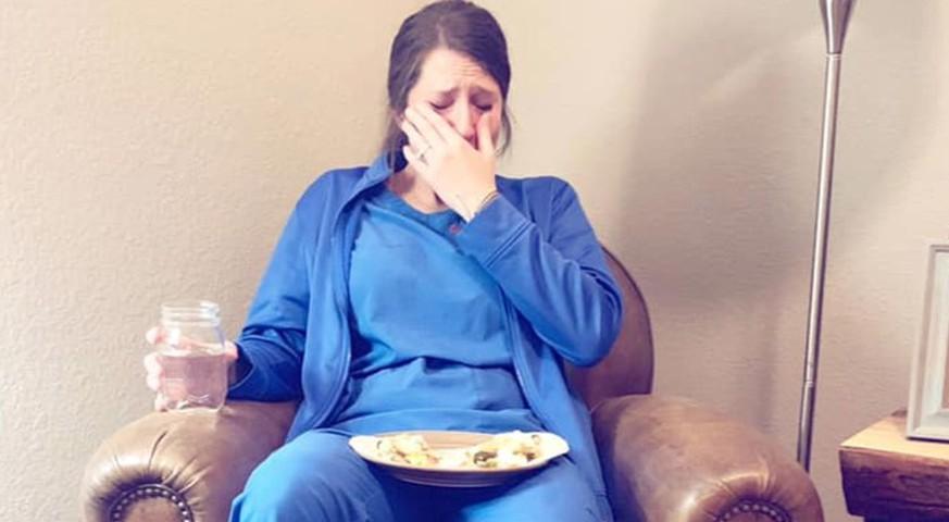 Dieser Facebook-Post zeigt das harte Leben einer Hebamme