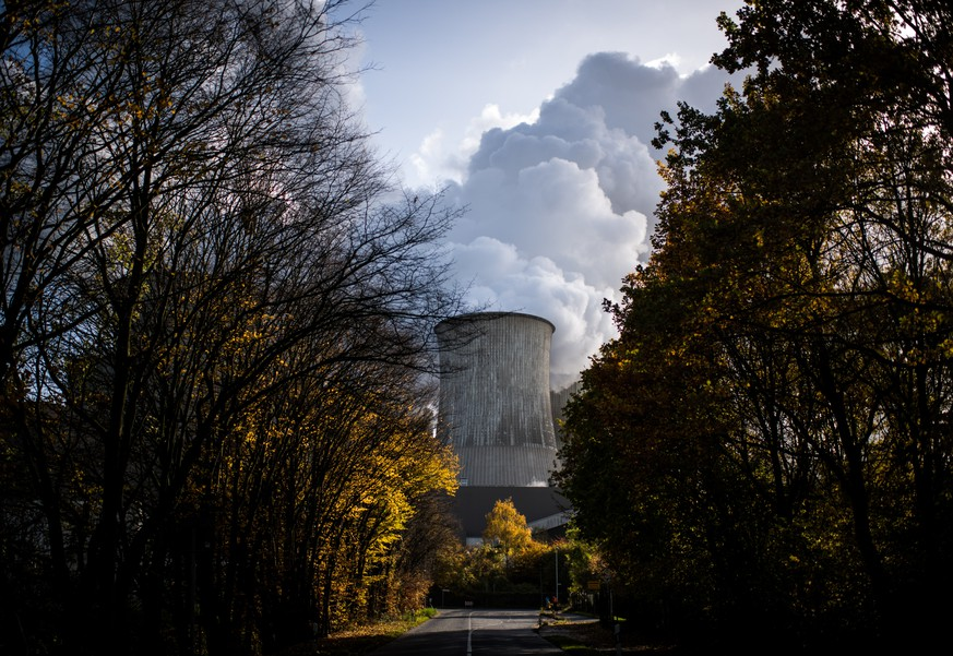 BERHEIM, GERMANY - NOVEMBER 13: Steam rises from the Niederaussem coal-fired power plant operated by German utility RWE, which stands near open-pit coal mines that feed it with coal, on November 13, 2017 near Bergheim, Germany. The COP 23 United Nations Climate Change Conference is taking place in Bonn, about 60km from the Niederaussem plant. The nearby Rhineland coal fields are the biggest source of coal in western Germany and the power plants in the region that they supply emit massive amounts of CO2. (Photo by Lukas Schulze/Getty Images)