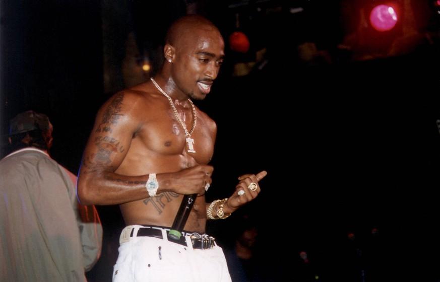 Tupac Shakur: Sex-Bild des Rappers aus dem Gefängnis wird