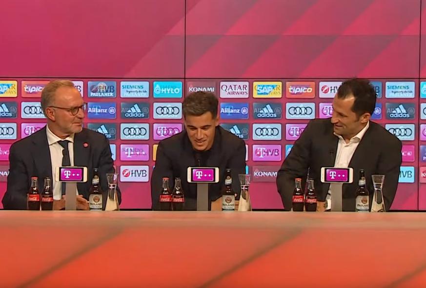 FC Bayern: Coutinho bringt die Bayern mit nur einem Satz ins Dilemma