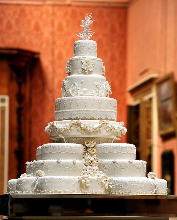 So Konnte Die Hochzeitstorte Von Prinz Harry Und Meghan Markle