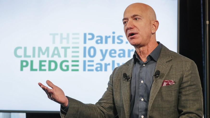 Amazon-Chef Jeff Bezos: 10 Milliarden Dollar für den Klimaschutz