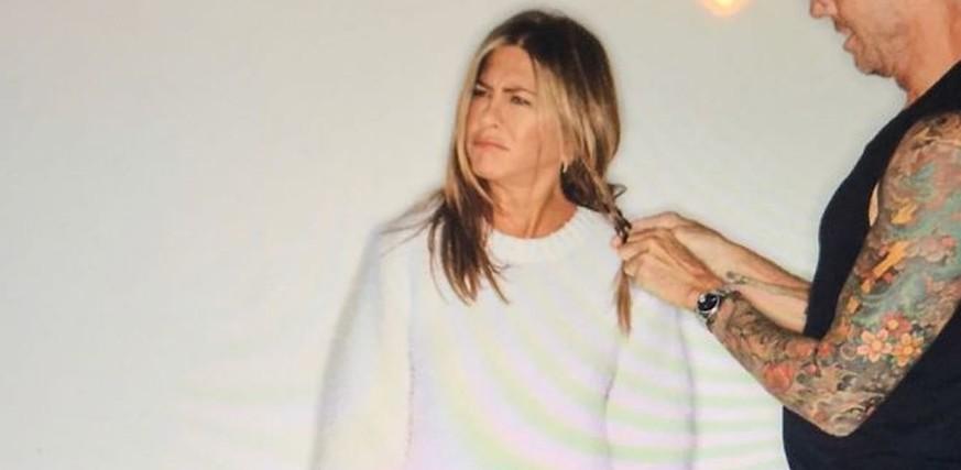 Die neue Insta-Queen Jennifer Aniston setzt sich für mehr Realness ein