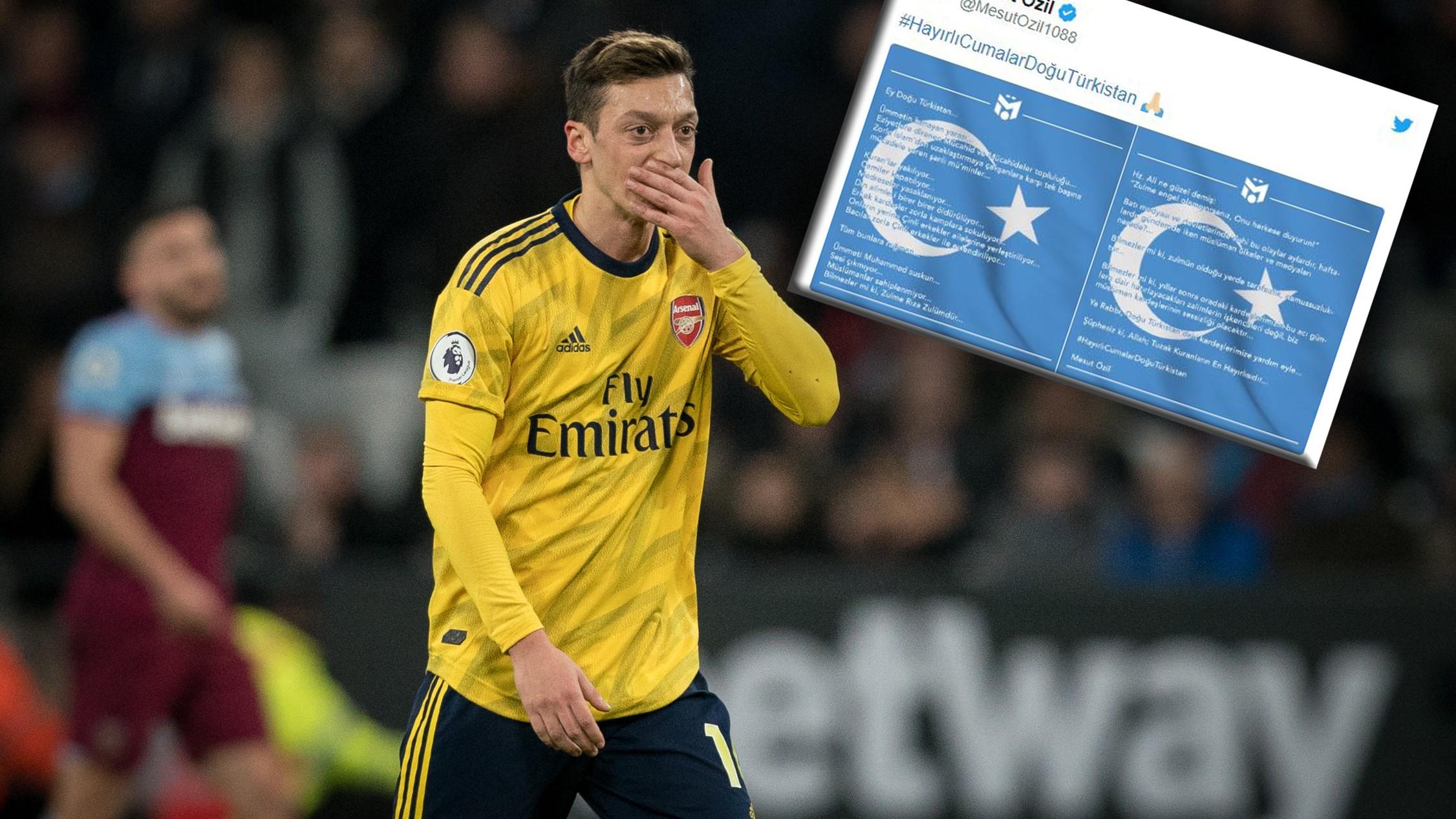 Nach Özil-Tweet: China streicht TV-Übertragung von FC Arsenal vs. ManCity
