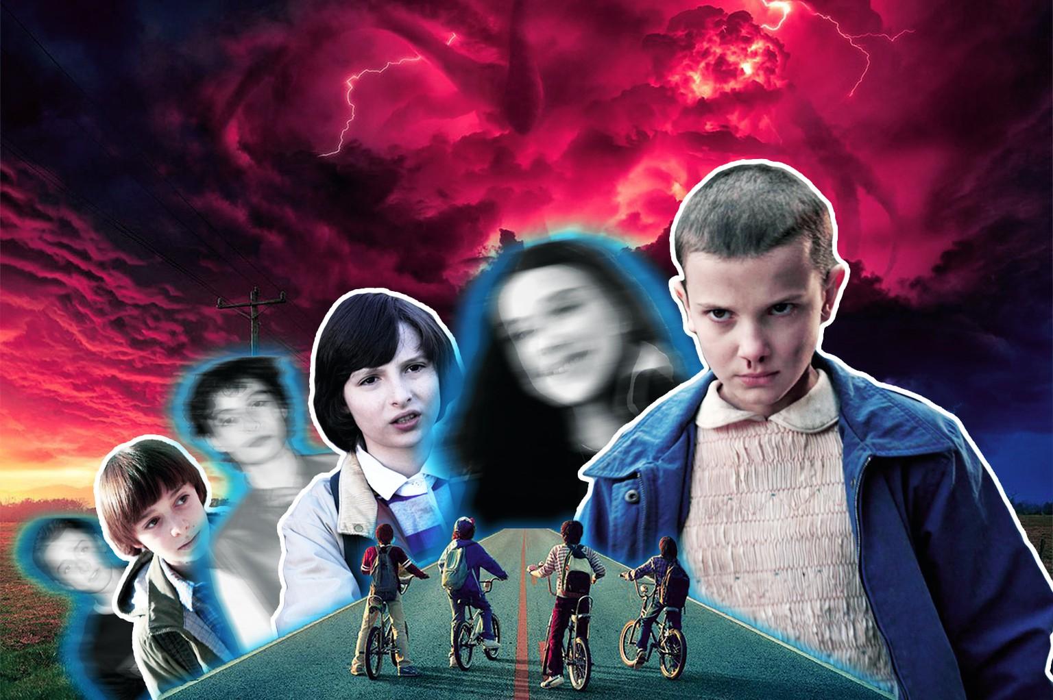 Stranger Things So Sehen Die Stars Der Netflix Serie Wirklich Aus