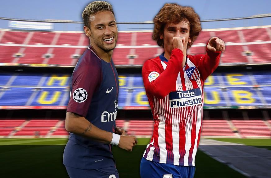 Jetzt Neymar und Griezmann? Wie sich Stars immer wieder zu Barca streiken