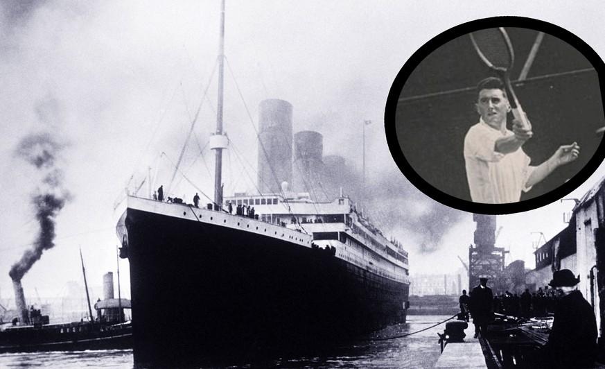 Er überlebte den Untergang der Titanic und wurde danach Olympiasieger