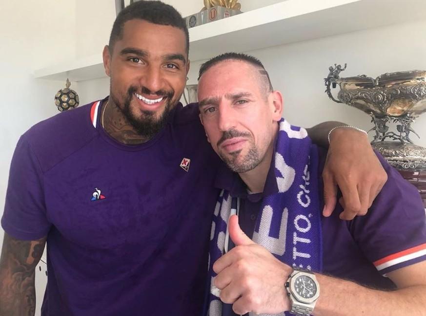 Florenz-Fans feiern Neuzugang Ribéry – Farid Bang sorgt mit Spruch für Lacher