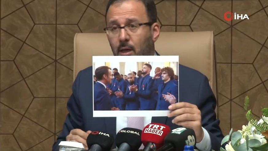 Türkischer Sportminister rechtfertigt Salut-Jubel der Fußballer mit Griezmann-Foto