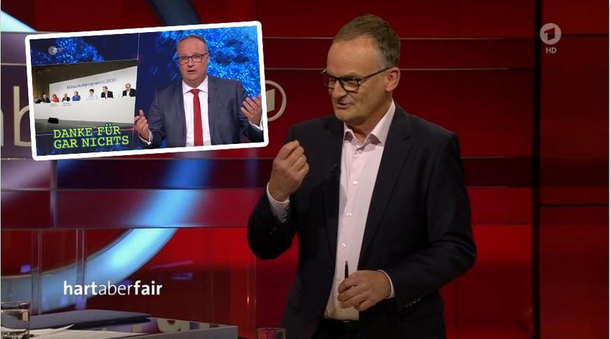 """Plasberg zeigt Spott-Video über die GroKo: Idee stammt nicht von """"Hart aber Fair"""""""