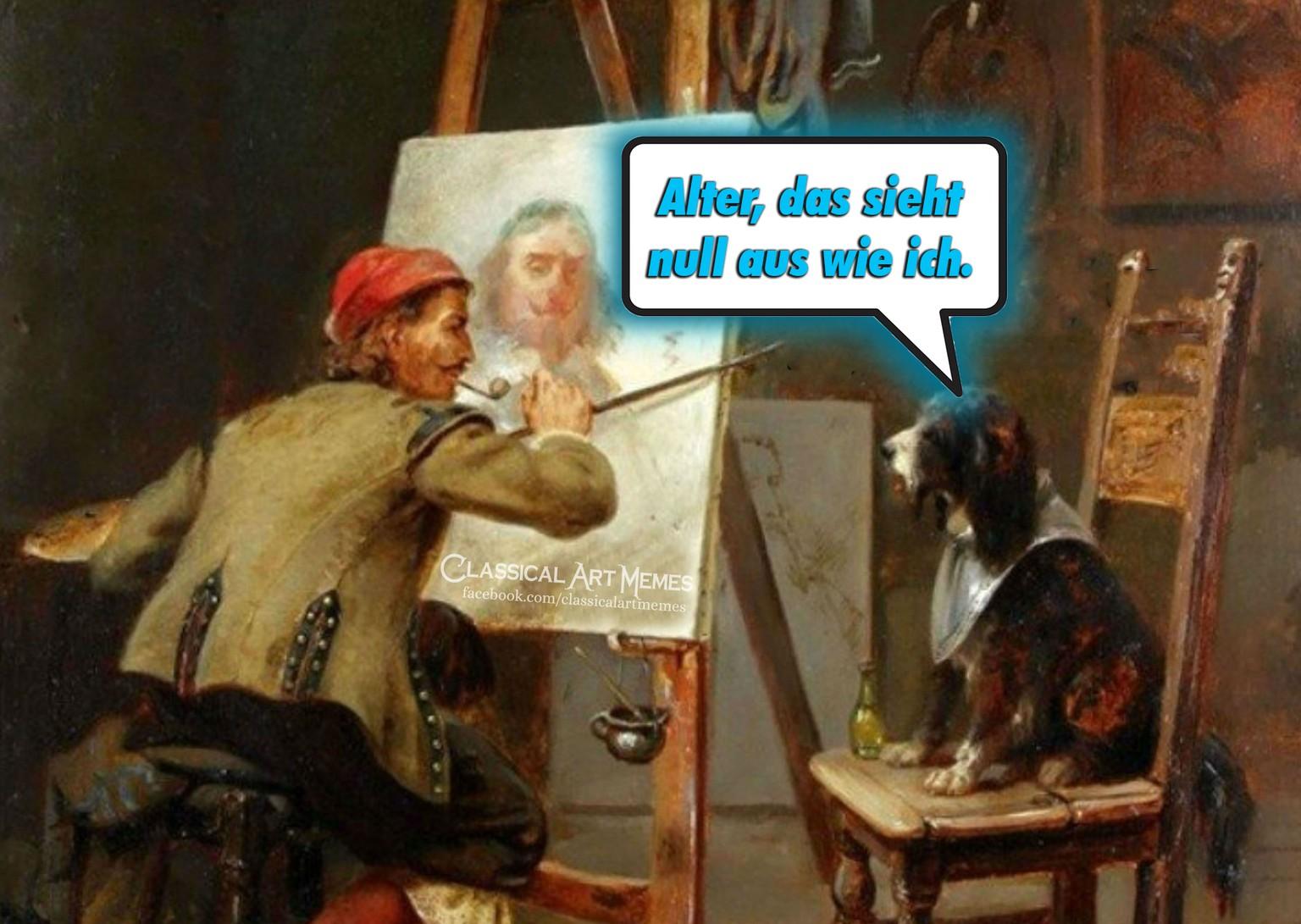 Classical Art Memes 19 Malerei Memes Die Besser Sind Als Jedes Museum Watson