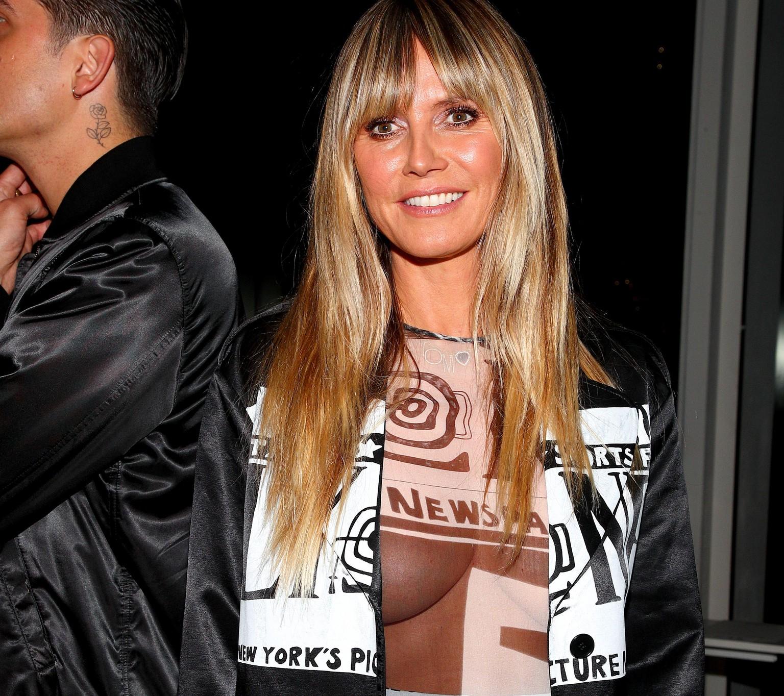 Heidi nackt bill kaulitz und klum Heidi Klum