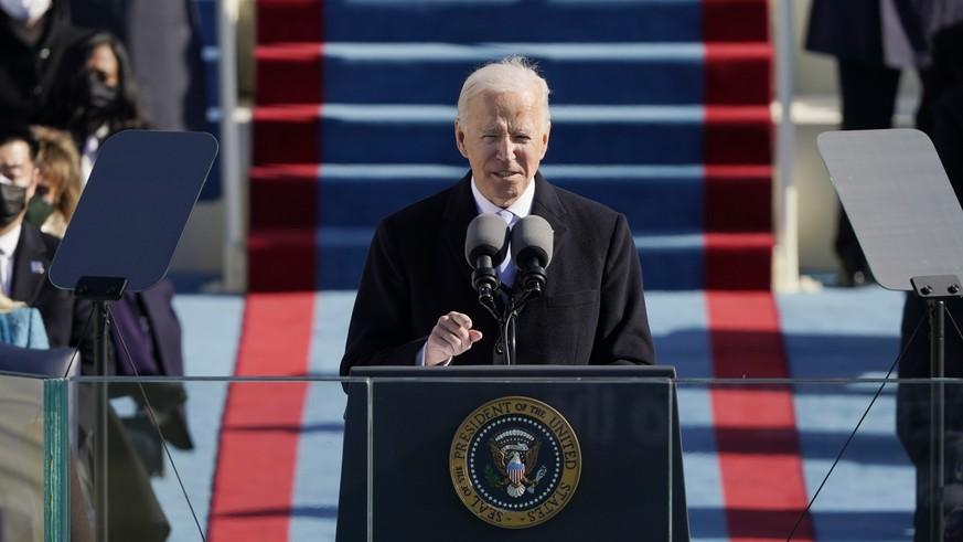 Klimaschutz und Rassismus: Biden schickt gleich am Anfang seiner Präsidentschaft Signale an junge Menschen weltweit