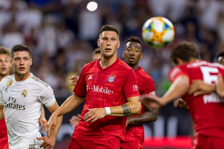 July 20, 2019: Bayern Munich defender Niklas Sule (4) during the International Champions Cup between Real Madrid and Bayern Munich FC at NRG Stadium in Houston, Texas. The final Bayern Munich wins 3-1. © /CSM Soccer 2019 - International Champions Cup : Real Madrid vs Bayern Munich Jul 20 PUBLICATIONxINxGERxSUIxAUTxONLY - ZUMAc04_ 20190720_zaf_c04_129 Copyright: xMariaxLysakerx