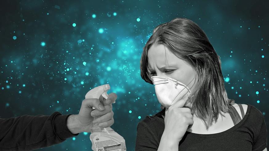 Wie effektiv schützen Mundschutz und Desinfektionsmittel vor Viren?