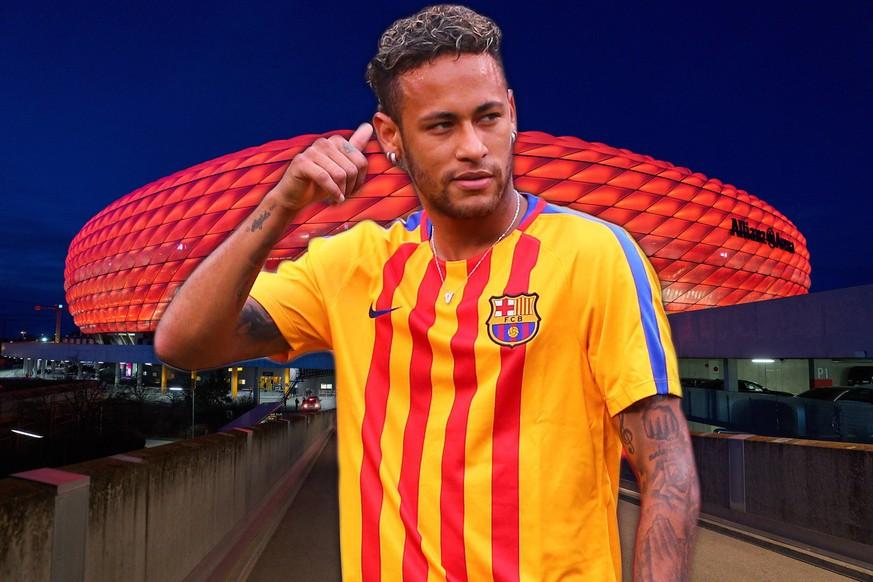 Neymar könnte mit Domino-Effekt für neuen Toptransfer beim FC Bayern sorgen