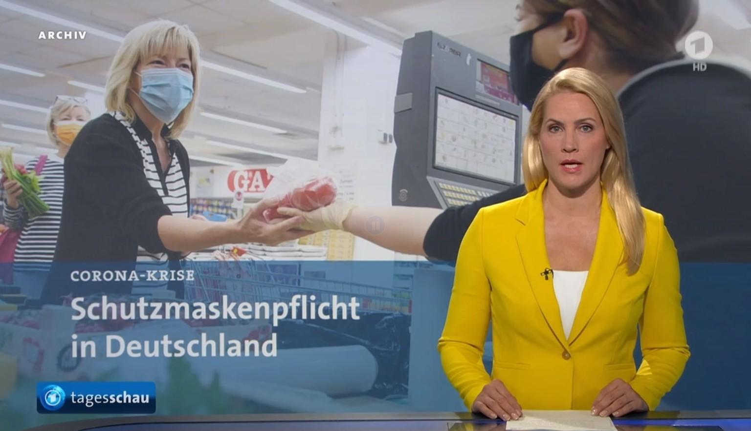 Leslie moderatorin pro7 newstime Newstime