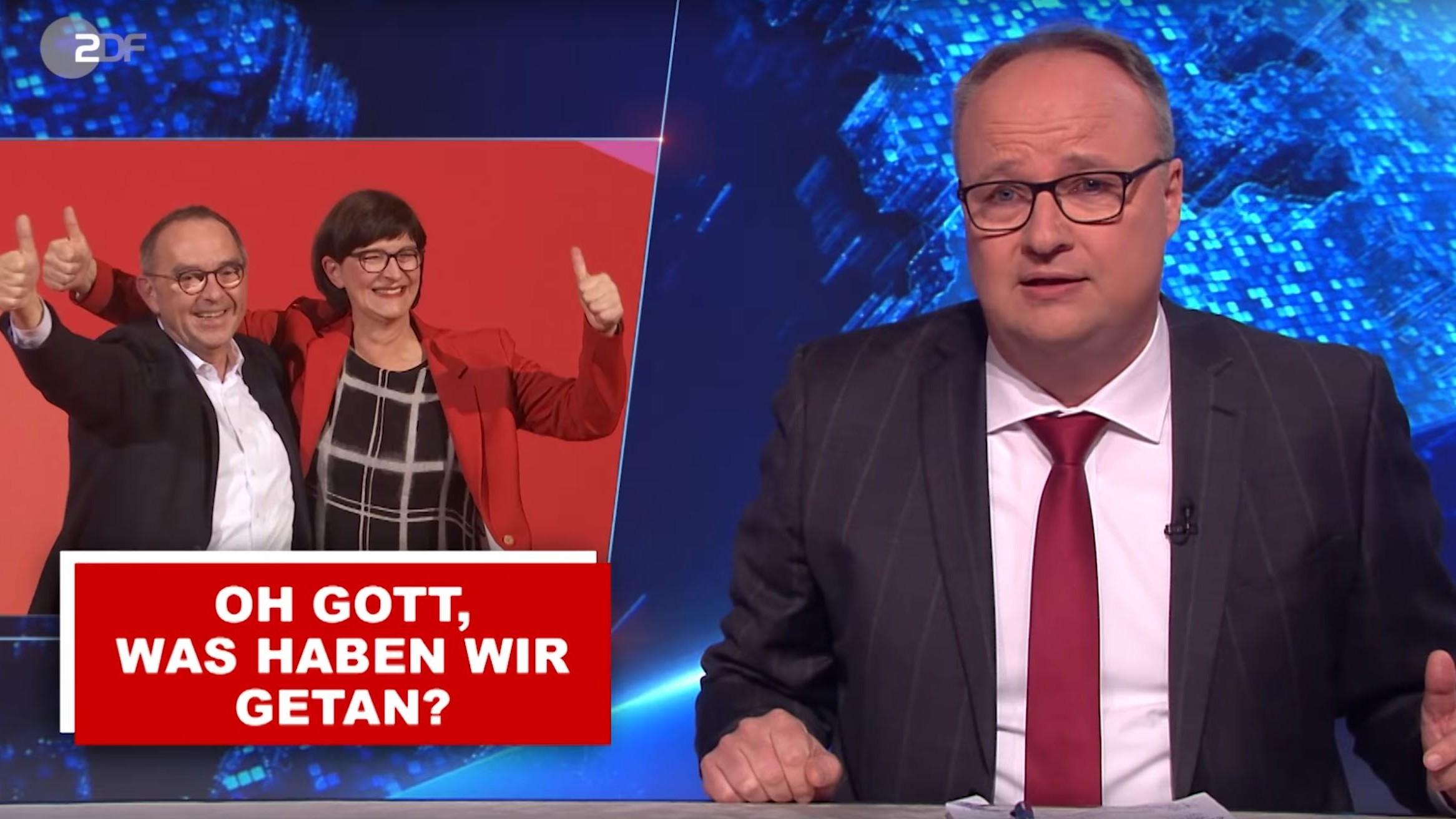"""Heute-Show"": Welke führt SPD vor"