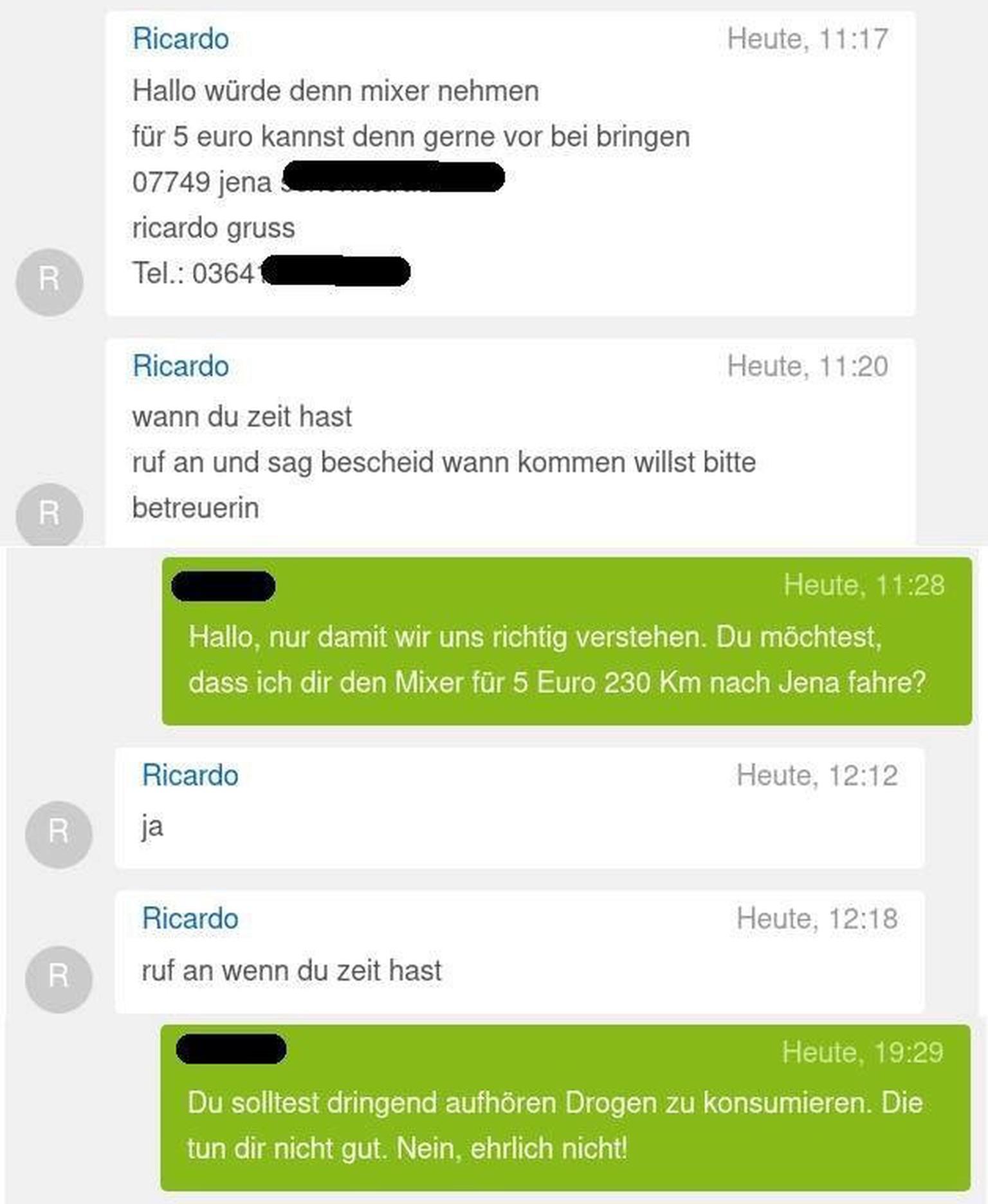 Ebay Kleinanzeigen Lustige Chats