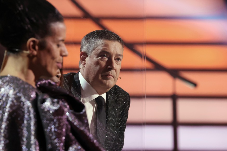 COLOGNE, GERMANY - MARCH 05: Juror Joachim Llambi is seen on stage during the 1st show of the 14th season of the television competition