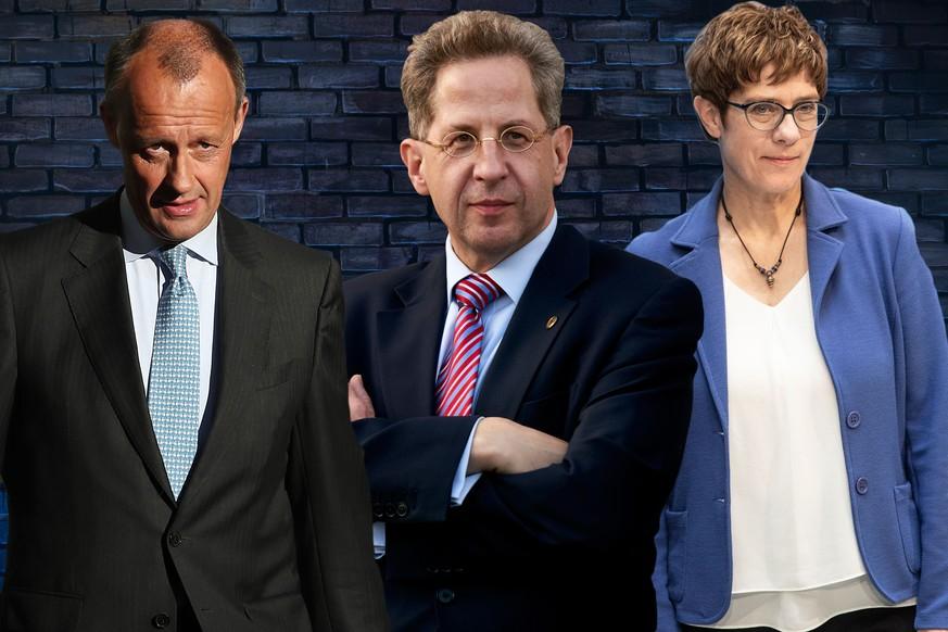 AKK und Merz legen gegen Maaßen nach – ein CDU-Politiker verteidigt ihn