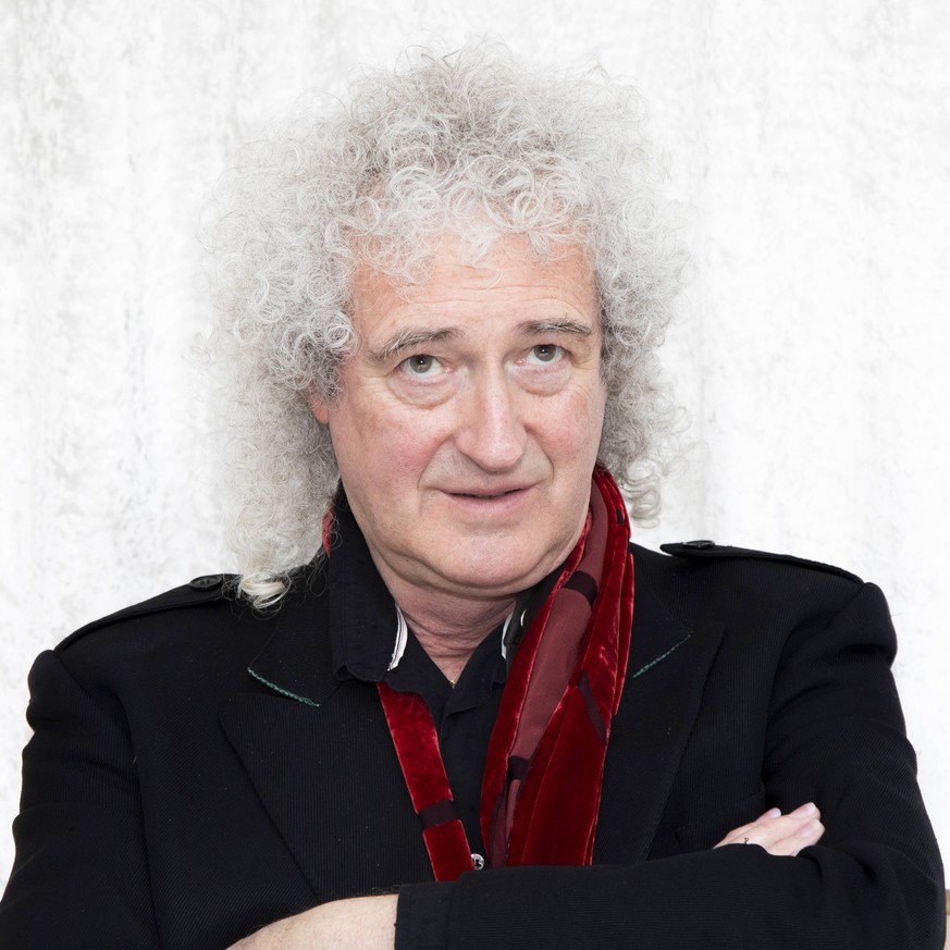 January 5, 2019 - Hollywood, California, USA - Brian May from the Band Queen. Brian has a new song out. Hollywood USA PUBLICATIONxINxGERxSUIxAUTxONLY - ZUMAg203 20190105_zap_g203_004 Copyright: xArmandoxGallox