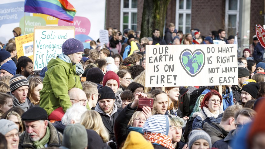 """""""Radikale Veränderungen"""" nötig: Fridays for Future reagiert auf Hamburg-Wahl"""