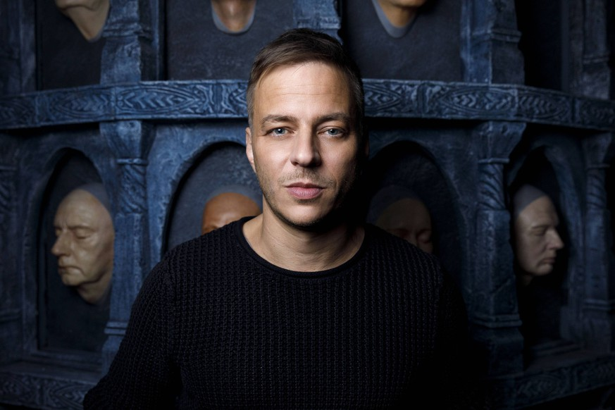Tom Wlaschiha beim Pressetermin zur Austellung Game of Thrones - The Touring Exhibition in der Centro Promenade. Oberhausen, 26.11.2018 *** Tom Wlaschiha at the press event for the exhibition Game of Thrones The Touring Exhibition at the Centro Promenade Oberhausen 26 11 2018 Foto:xC.xHardtx/xFuturexImage