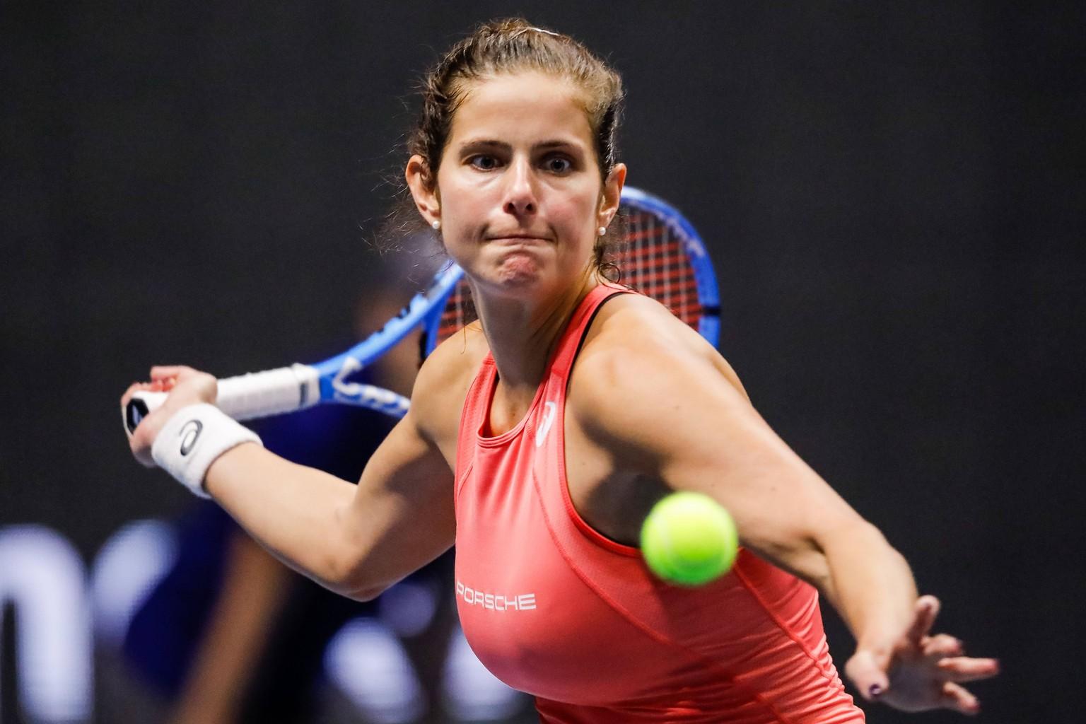 Körbchengröße julia görges Tennis: At
