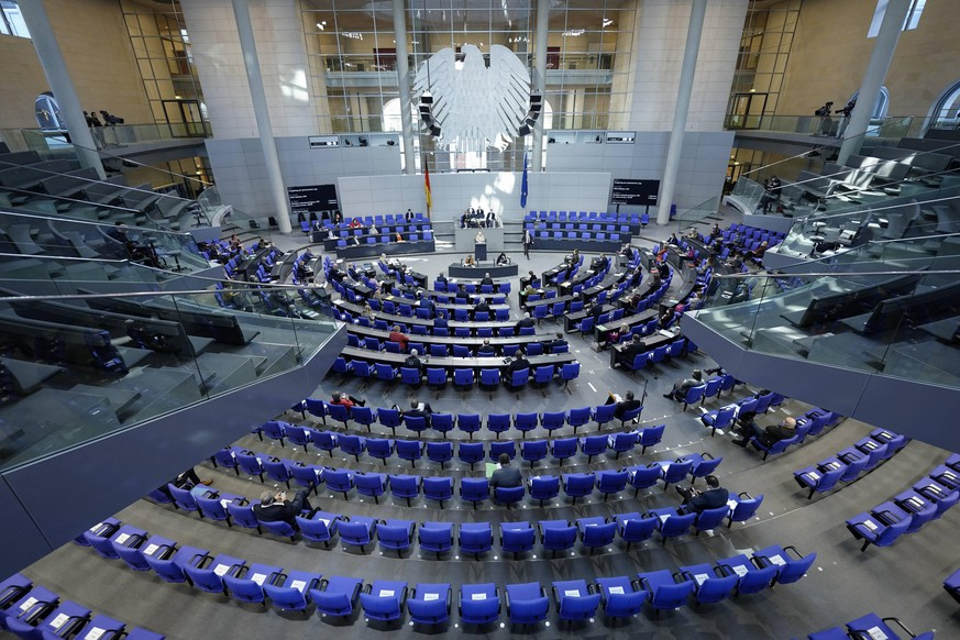 210. Bundestagssitzung und Debatte in Berlin Symbolbild Plenarsaal einer Sitzung des Deutschen Bundestag in Berlin Berlin Berlin Deutschland *** 210 Bundestag session and debate in Berlin symbol picture plenary hall of a session of the German Bundestag in Berlin Berlin Germany