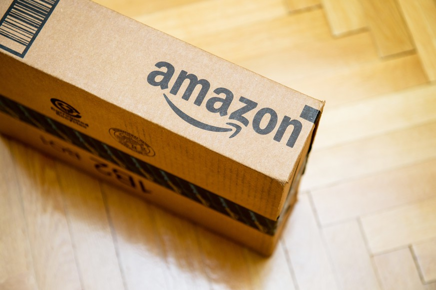 Amazon Paket Markenlogo