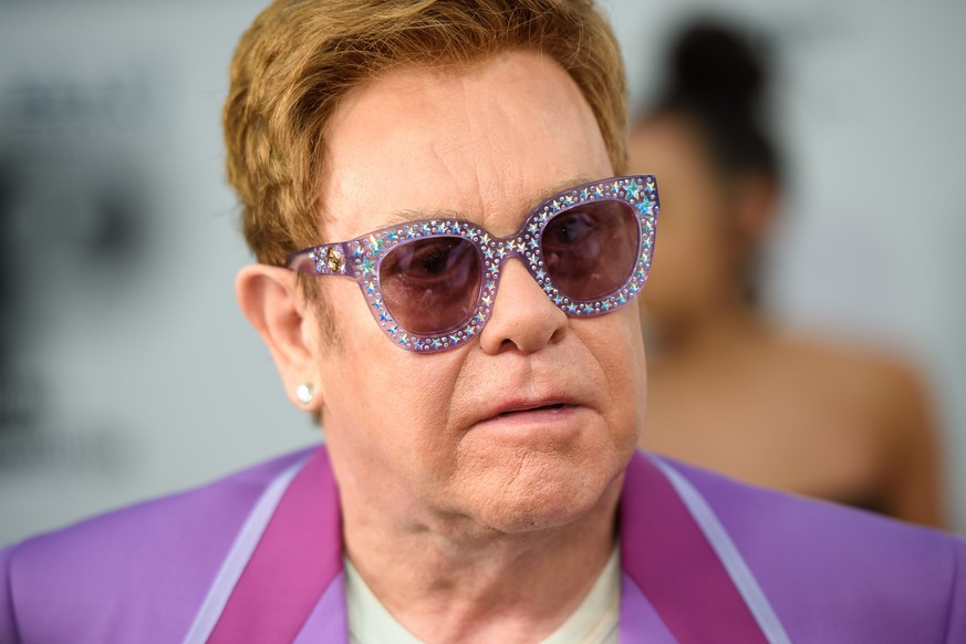 Elton John Aids Foundation - A Midsummer Party - Antibes. Elton John attending the Elton John Aids Foundation Midsummer Party at Jean Pigozzi's Villa Dorane, Antibes, France. URN:44291555 |